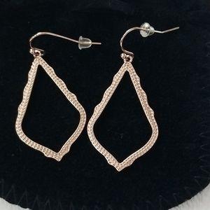 Kendra Scott Sophia Drop Earrings in Rose Gold